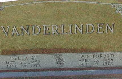 VANDERLINDEN, W. F. (FORREST) - Warren County, Iowa | W. F. (FORREST) VANDERLINDEN