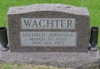 WACHTER, MILDRED JOHANNA - Warren County, Iowa | MILDRED JOHANNA WACHTER