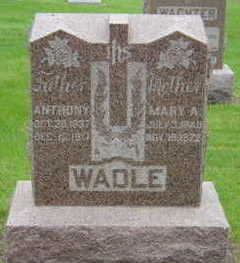 WADLE, MARY A - Warren County, Iowa | MARY A WADLE