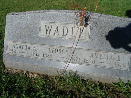 WADLE, GEORGE A. - Warren County, Iowa | GEORGE A. WADLE