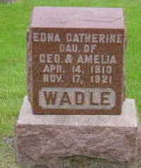WADLE, EDNA CATHERINE - Warren County, Iowa | EDNA CATHERINE WADLE