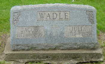 WADLE, JACOB - Warren County, Iowa | JACOB WADLE