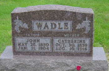 WADLE, CATHERINE - Warren County, Iowa | CATHERINE WADLE