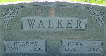 WALKER, CLEAL G - Warren County, Iowa | CLEAL G WALKER