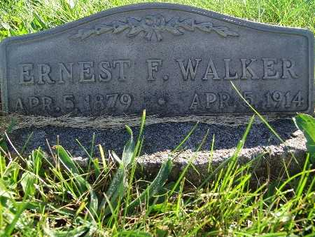 WALKER, ERNEST F. - Warren County, Iowa | ERNEST F. WALKER