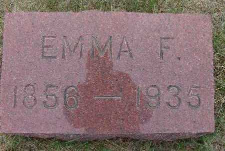 GOODE WALKER, EMMA F. - Warren County, Iowa | EMMA F. GOODE WALKER