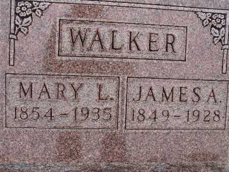 WALKER, JAMES A. - Warren County, Iowa | JAMES A. WALKER