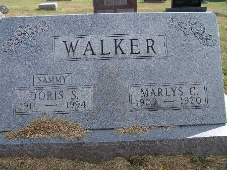 WALKER, DORIS S. - Warren County, Iowa | DORIS S. WALKER