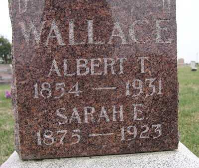JENNINGS WALLACE, SARAH E. - Warren County, Iowa | SARAH E. JENNINGS WALLACE
