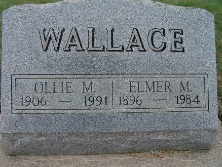 SAGE WALLACE, OLLIE M. - Warren County, Iowa | OLLIE M. SAGE WALLACE
