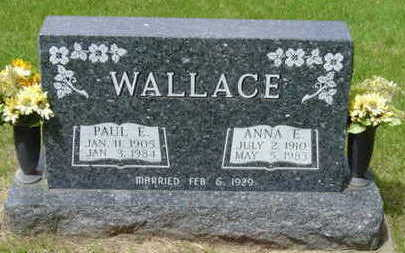 WALLACE, ANNA E - Warren County, Iowa | ANNA E WALLACE