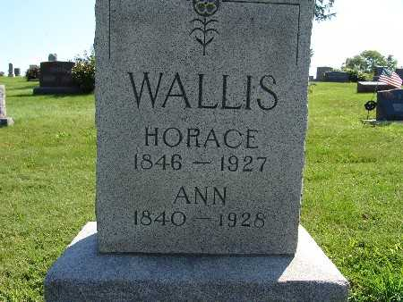 WALLIS, HORACE - Warren County, Iowa | HORACE WALLIS