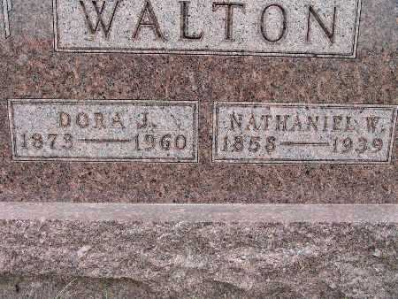 OLDAKER WALTON, DORA J. - Warren County, Iowa | DORA J. OLDAKER WALTON
