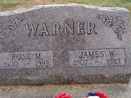 WARNER, ROSE M. - Warren County, Iowa | ROSE M. WARNER