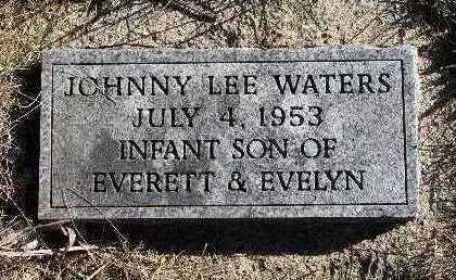WATERS, JOHNNY LEE - Warren County, Iowa   JOHNNY LEE WATERS