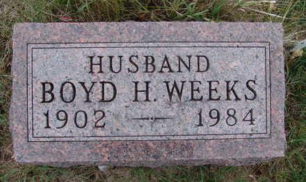WEEKS, BOYD H. - Warren County, Iowa | BOYD H. WEEKS