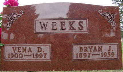 WEEKS, VENA D. - Warren County, Iowa | VENA D. WEEKS