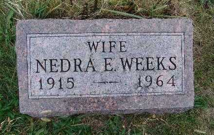 WEEKS, NEDRA E. - Warren County, Iowa | NEDRA E. WEEKS