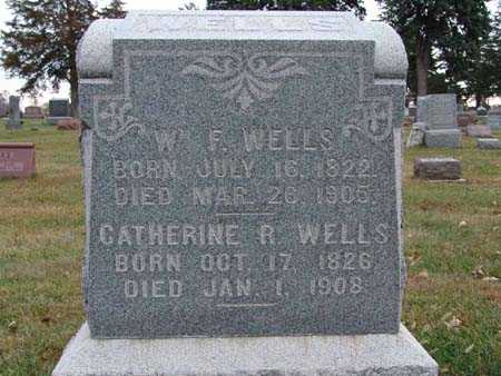 WELLS, CATHERINE R. - Warren County, Iowa | CATHERINE R. WELLS