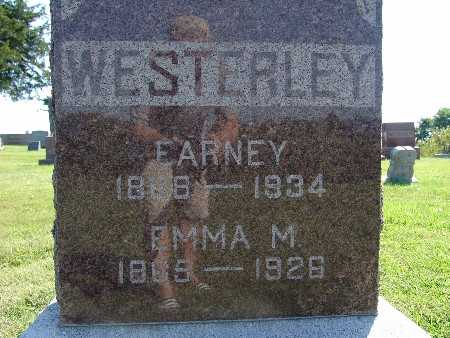 WESTERLY, EMMA M - Warren County, Iowa | EMMA M WESTERLY
