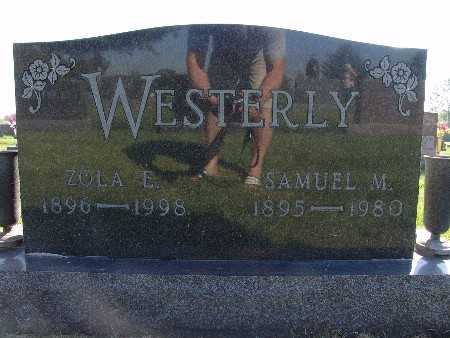 WESTERLY, ZOLA E. - Warren County, Iowa | ZOLA E. WESTERLY
