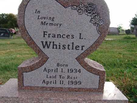 WHISTLER, FRANCES L - Warren County, Iowa | FRANCES L WHISTLER