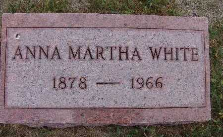 WHITE, ANNA MARTHA - Warren County, Iowa | ANNA MARTHA WHITE