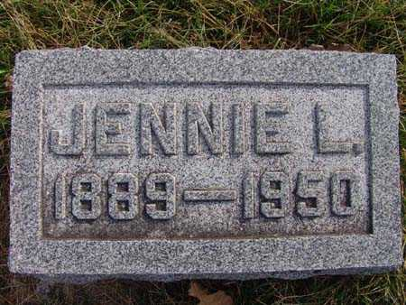 WHITE, JENNIE L. - Warren County, Iowa | JENNIE L. WHITE