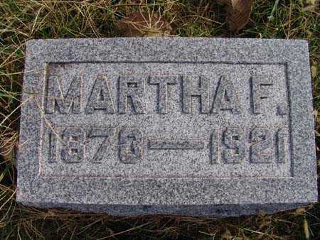 WHITE, MARTHA F. - Warren County, Iowa | MARTHA F. WHITE