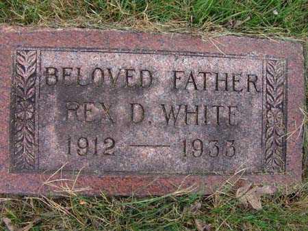 WHITE, REX D. - Warren County, Iowa | REX D. WHITE
