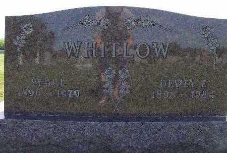 WHITLOW, DEWEY E. - Warren County, Iowa | DEWEY E. WHITLOW