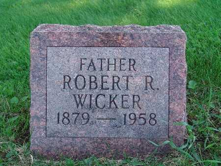 WICKER, ROBERT R - Warren County, Iowa | ROBERT R WICKER