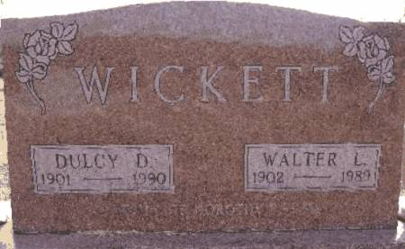 WICKETT, WALTER L. - Warren County, Iowa | WALTER L. WICKETT