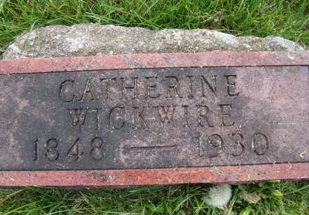 WICKWIRE, CATHERINE - Warren County, Iowa | CATHERINE WICKWIRE