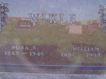 WIKLE, G. WILLIAM - Warren County, Iowa | G. WILLIAM WIKLE