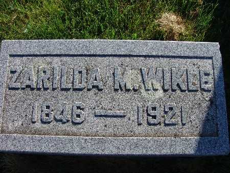WIKLE, ZARILDA - Warren County, Iowa | ZARILDA WIKLE