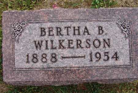 WILKERSON, BERTHA B. - Warren County, Iowa | BERTHA B. WILKERSON