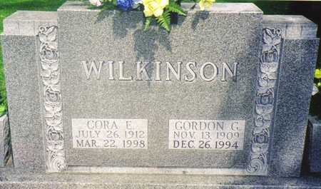 WILKINSON, GORDON G. - Warren County, Iowa | GORDON G. WILKINSON