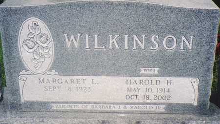 WILKINSON, HAROLD H. - Warren County, Iowa | HAROLD H. WILKINSON