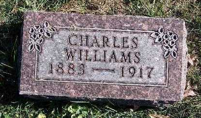 WILLIAMS, CHARLES - Warren County, Iowa | CHARLES WILLIAMS