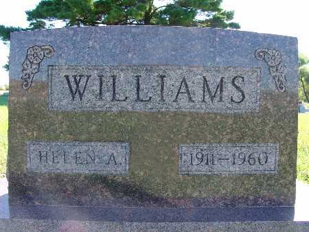 WILLIAMS, HELEN A. - Warren County, Iowa | HELEN A. WILLIAMS