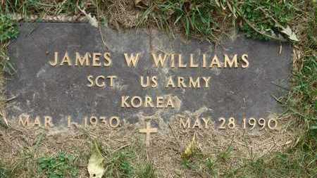 WILLIAMS, JAMES W. - Warren County, Iowa | JAMES W. WILLIAMS