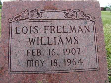 WILLIAMS, LOIS FREEMAN - Warren County, Iowa | LOIS FREEMAN WILLIAMS