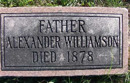 WILLIAMSON, ALEXANDER - Warren County, Iowa | ALEXANDER WILLIAMSON