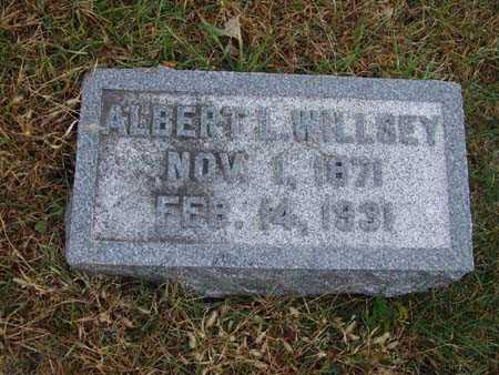 WILLSEY, ALBERT L. - Warren County, Iowa | ALBERT L. WILLSEY