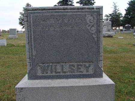 WILLSEY, ELIZABETH - Warren County, Iowa | ELIZABETH WILLSEY