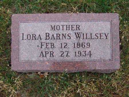 WILLSEY, LORA BARNS - Warren County, Iowa | LORA BARNS WILLSEY