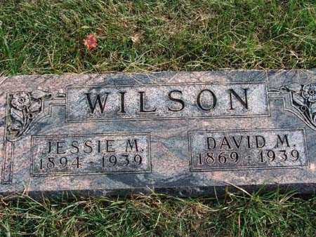 WILSON, DAVID M. - Warren County, Iowa | DAVID M. WILSON