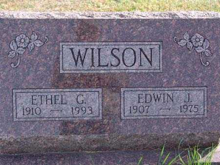 WILSON, ETHEL G. - Warren County, Iowa | ETHEL G. WILSON