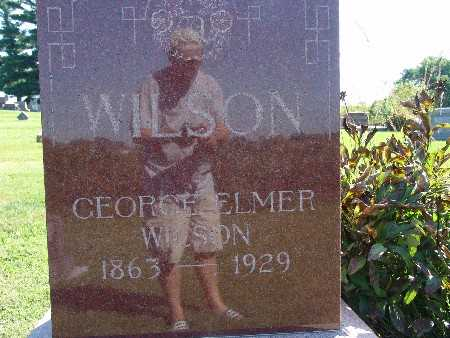 WILSON, GEORGE ELMER - Warren County, Iowa | GEORGE ELMER WILSON